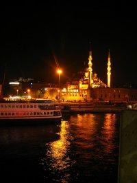 Turcja nocą